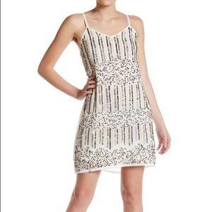 RAGA White Sequin Dress